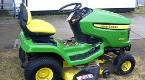 Durham police have released an image of a riding lawn mower similar to one stolen from an Oshawa church. (Durham Regional Police handout)