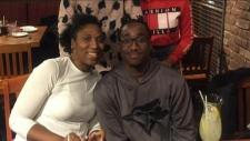 Raechon Elahie and Jonathan Davis