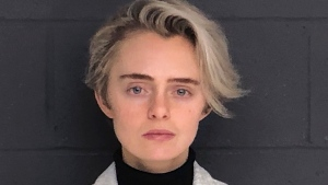 This Feb. 11, 2019, booking photo released by the Bristol County Sheriff's Office shows Michelle Carter.  (Bristol County Sheriff's Office via AP, File)