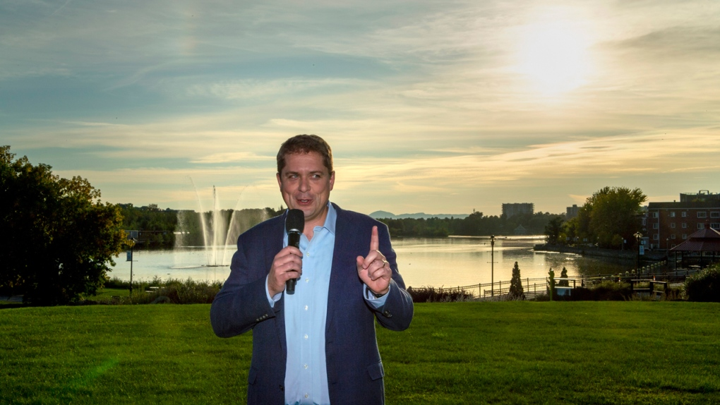 Trudeau heads to Toronto to steady his campaign, Scheer goes east