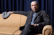 Leonard Cohen sits for a portrait in Toronto on Saturday, February 4, 2006. THE CANADIAN PRESS/Aaron Harris
