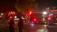 Toronto fire battled a two-alarm blaze at a home in Scarborough. (CP24)