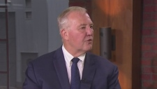 Scarborough Southwest Liberal candidate Bill Blair sits down for an interview with CP24 Sunday September 22, 2019.