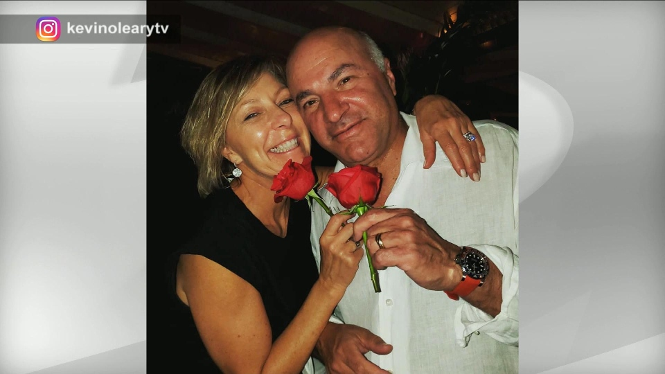 Linda and Kevin O'Leary are pictured.