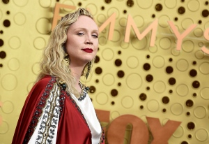 Gwendoline Christie arrives at the 71st Primetime Emmy Awards on Sunday, Sept. 22, 2019, at the Microsoft Theater in Los Angeles. (Photo by Jordan Strauss/Invision/AP)