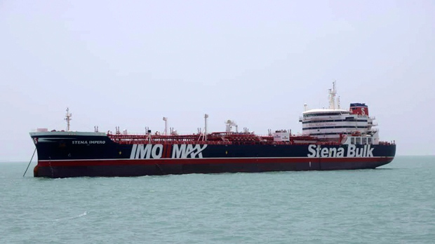 British-flagged tanker leaves Iranian port after being captured by Revolutionary Guard