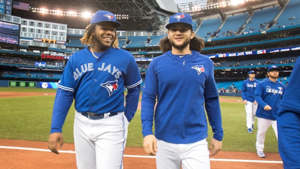 Vladimir Guerrero Jr. and Bo Bichette