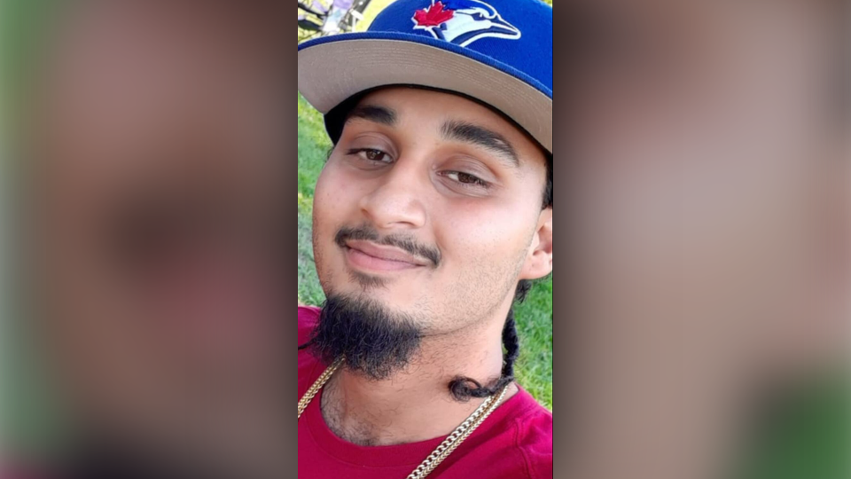Toronto police say Amir Naraine, 21, was found dead with a gunshot wound inside a car parked at an Etobicoke plaza on Sept. 29, 2019.