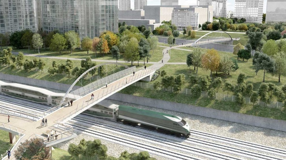 Garrison Crossing bridge opens today, connecting Trinity Bellwoods to Fort York