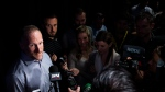 Mark Shapiro, president of the Toronto Blue Jays, speaks to the media during the end-of-the-season press conference in Toronto on Tuesday, October 1, 2019. THE CANADIAN PRESS/Nathan Denette