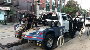 City targeting cars illegally parked on Queen Street in new towing pilot project