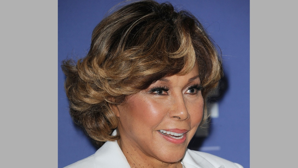 This June 12, 2013 file photo shows Diahann Carroll at Women in Film's 2013 Crystal + Lucy Awards in Beverly Hills, Calif. Carroll died, Friday, Oct. 4, 2019, at her home in Los Angeles after a long bout with cancer. She was 84. (Photo by Katy Winn/Invision/AP, File)