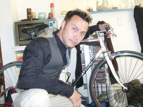Darcy Allan Sheppard, a bike courier working in Toronto, was killed in a traffic incident, Monday, Aug. 31, 2009. Mr. Sheppard is seen in this image made available to CTV Toronto.