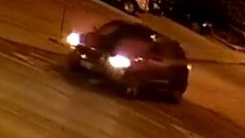 Toronto police are looking for a black, four-door small SUV with damage to the front after it fled the scene of a collision near Woodbine Avenue and O'Connor Drive. (Toronto police)