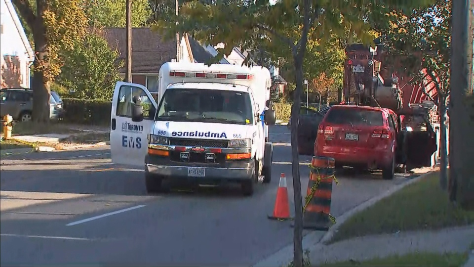 Toronto police are investigating a fatal collision near Islington Avenue and Bloor Street West in Etobicoke. (C P24)