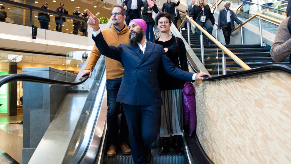 Singh and Trudeau in GTA, Scheer in B.C., May heads East