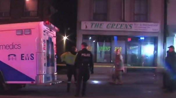 Two women shot outside of bar in York.