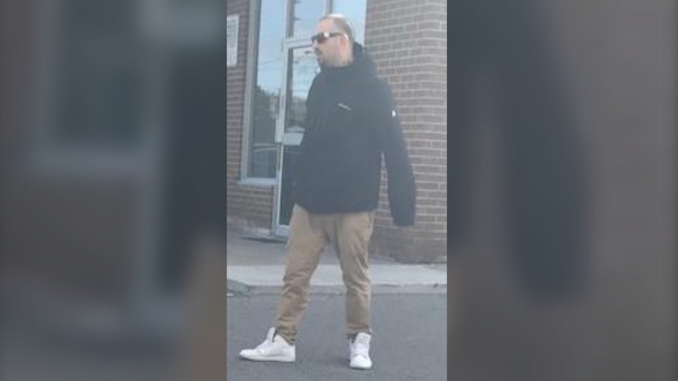 Investigators have released a photo of who they believe is an occupant in the hit-and-run at Ellesmere Road and Pharmacy Avenue. It is believed that he is a passenger in the vehicle that fled on foot. (Toronto police)