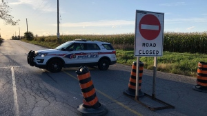 York Regional police are investigating a two-vehicle collision in Vaughan that left two people dead. (Carol Charles)