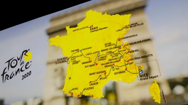 Tour de France 2020 route