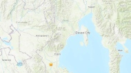 The U.S. Geological Survey says the magnitude 6.4 quake that hit Wednesday evening was centred about 8 kilometres (5 miles) from Columbio in the Mindanao region. It had a depth of only 14 kilometres (8 miles). Shallow quakes tend to cause more damage than deeper ones. (Google Maps)