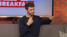 Joey Kidney, YouTube creator comes to CP24 to talk about his new book.