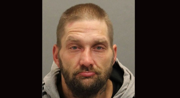Jeremiah Cook, 40, is seen in this photo released by police. (Toronto Police Service handout)