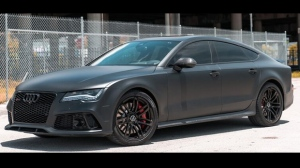 A 2016 Audi RS7 similar to one believed to have been used in an Oct. 17 shooting in North York is shown. (TPS)