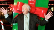 """This Oct. 14, 2004 file photo shows actor Bill Macy at the premiere of the movie """"Surviving Christmas,"""" in the Hollywood section of Los Angeles. (AP Photo/Mark J. Terrill, File)"""