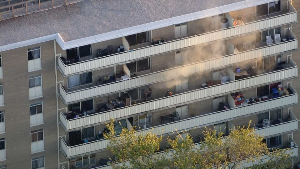 Toronto fire are responding to a three-alarm fire in North York that left one man critically injured. (CP24)