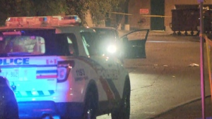 Toronto police are investigating a shooting near Windermere Avenue and The Queensway that seriously injured a man on Saturday night. (CP24)