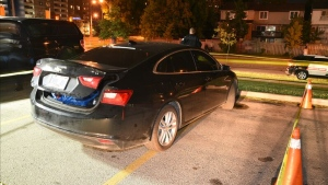 Police have released this photo of 21-year-old Amir Naraine's vehicle. (Toronto Police Service handout)