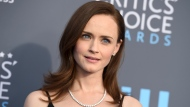 This Jan. 11, 2018 file photo shows Alexis Bledel at the 23rd annual Critics' Choice Awards in Santa Monica, Calif. (Photo by Jordan Strauss/Invision/AP, File)