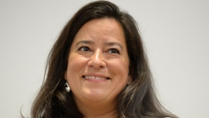Jody Wilson-Raybould arrives at a news conference to discuss her political future in Vancouver, Monday, May 27, 2019. A book by former justice minister and attorney general Jody Wilson-Raybould will be released on Sept. 20, according to her publisher.THE CANADIAN PRESS/Jonathan Hayward