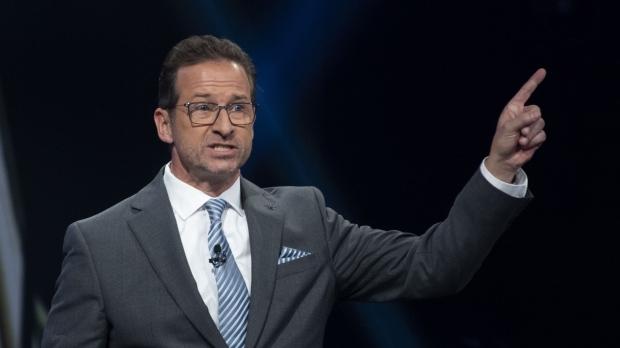 Bloc Quebecois leader Yves-Francois Blanchet takes