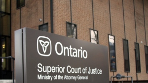 Superior Court of Justice shown in this file photo in Windsor, Ont., Nov. 19, 2013. (Melanie Borrelli / CTV Windsor)