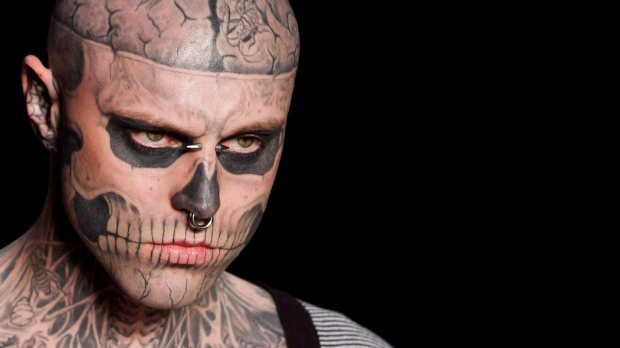 Death of Canadian model 'Zombie Boy' ruled an accident
