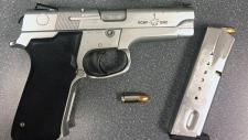 RCMP handgun