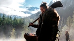 """This image released by Apple TV Plus shows Jason Momoa in a scene from """"See,"""" premiering Friday, Nov. 1, 2019, on Apple TV Plus. (Apple TV Plus via AP)"""