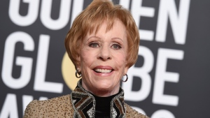 This Jan. 6, 2019 file photo shows actress-comedian Carol Burnett at the 76th annual Golden Globe Awards in Beverly Hills, Calif. (Photo by Jordan Strauss/Invision/AP, File)