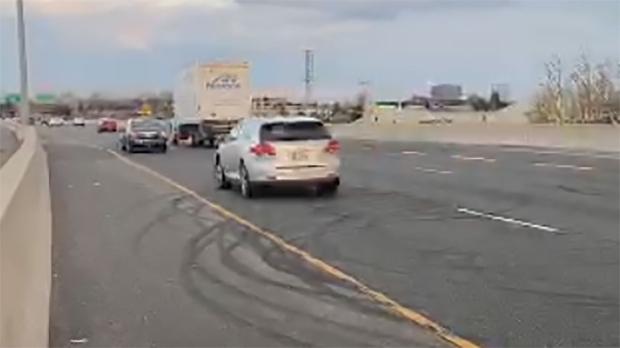 Highway stunts