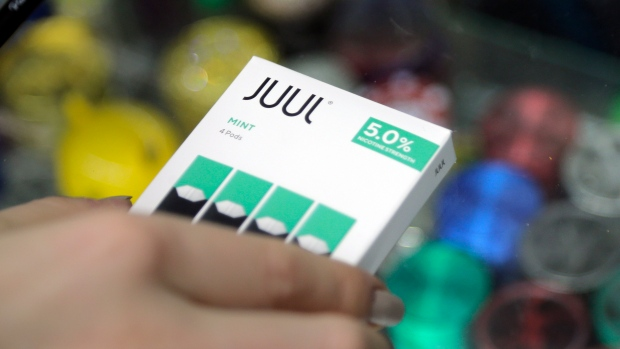 Juul halts sales of mint-flavored e-cigarettes, its most popular product
