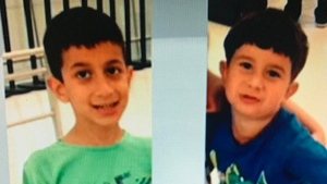 Jonathan and Nicolas Bastidas are shown in a 2015 image from their father's Facebook page.