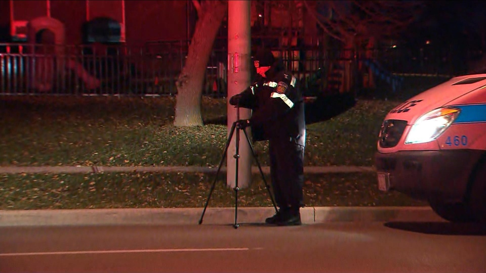 Peel police are investigating a shooting in Brampton that sent one man to hospital with non-life-threatening injuries. (CP24)
