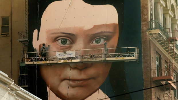 Massive Greta Thunberg Mural to Debut in San Francisco