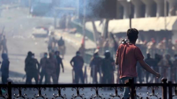 Iraqi riot police, Baghdad