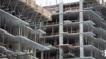 British Columbia's rental housing crisis goes far beyond factoring the impact of short-term rentals, say housing experts who urge more building across the province is needed to help families find affordable homes. New condo buildings are shown under construction in downtown Vancouver, Wednesday, Feb. 8, 2017. THE CANADIAN PRESS/Jonathan Hayward