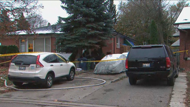 North York house fire that left 4 injured not believed to be suspicious: OFM - CP24 Toronto's Breaking News