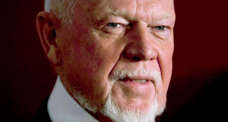 Hockey commentator Don Cherry is shown in Toronto on February 15, 2011. Cherry says he's frustrated about the lack of visible poppies being worn by new Canadians ahead of Remembrance Day. THE CANADIAN PRESS/Darren Calabrese