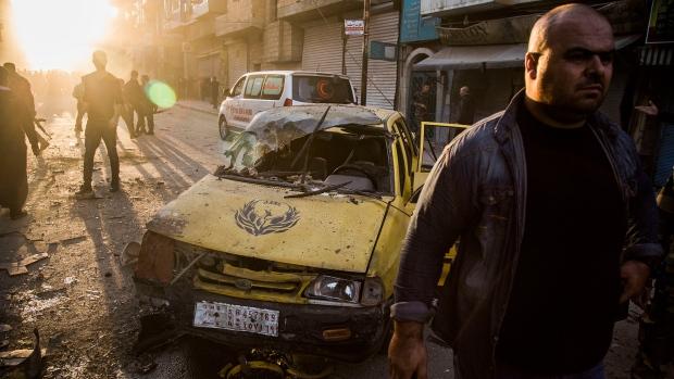 Syria car bombs